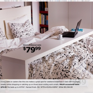 ... Table Images » ISG3037-adjustable-height-overbed-bedside-table-with