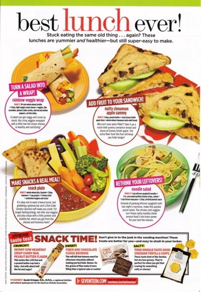 theme of the day easy and healthy lunch ideas