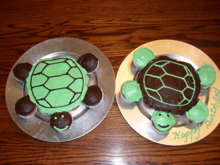 turtle pull-apart cake | Happy Birthday! | Pinterest