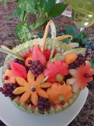 Fruit Flower Baskets Saskatoon : Arrangement edible fruit baskets best cars