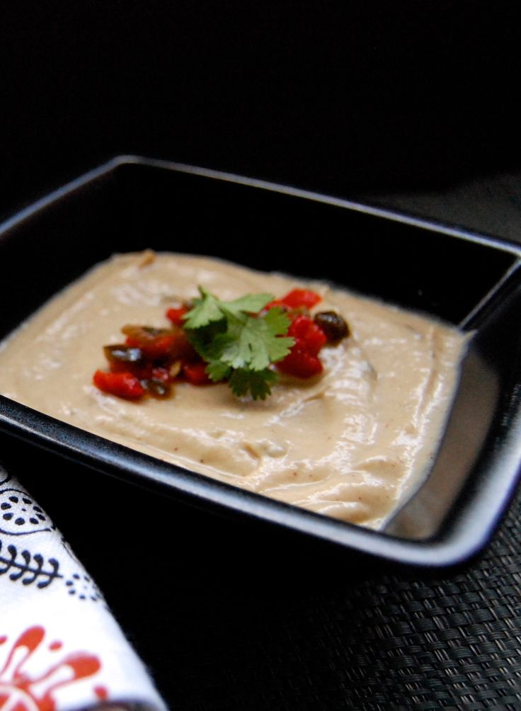 Roasted Cauliflower - Poblano Soup | Recipe