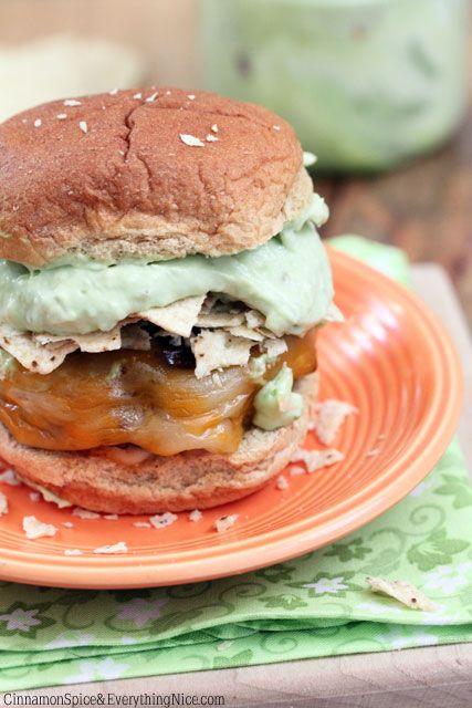 Guacamole Taco Crunch Burgers | Recipe