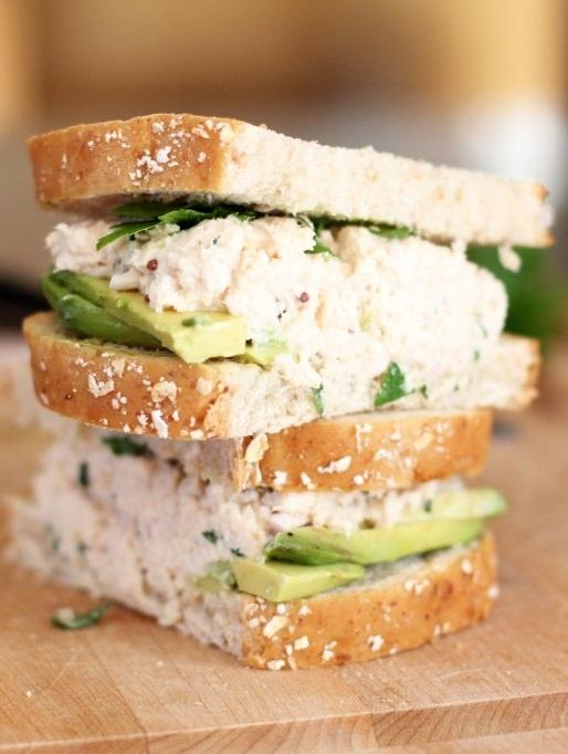 Tarragon and Shallot Tuna Salad. | SANDWICHES | Pinterest