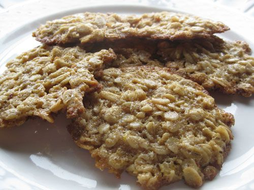Maple Oatmeal Lace Cookies | Shock and Awe Sweets .ME | Pinterest