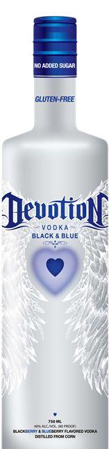Devotion Vodka | Black & Blue Lemonade | Drinks | Pinterest