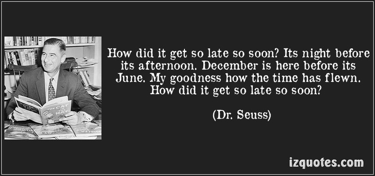 Dr. Seuss Quote About December