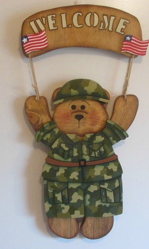 Military Green 10.00 Out fit only. Bear is 25.00