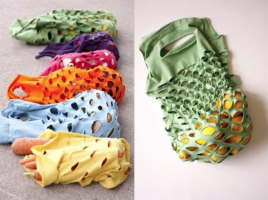 Ideas para reciclar camisetas viejas