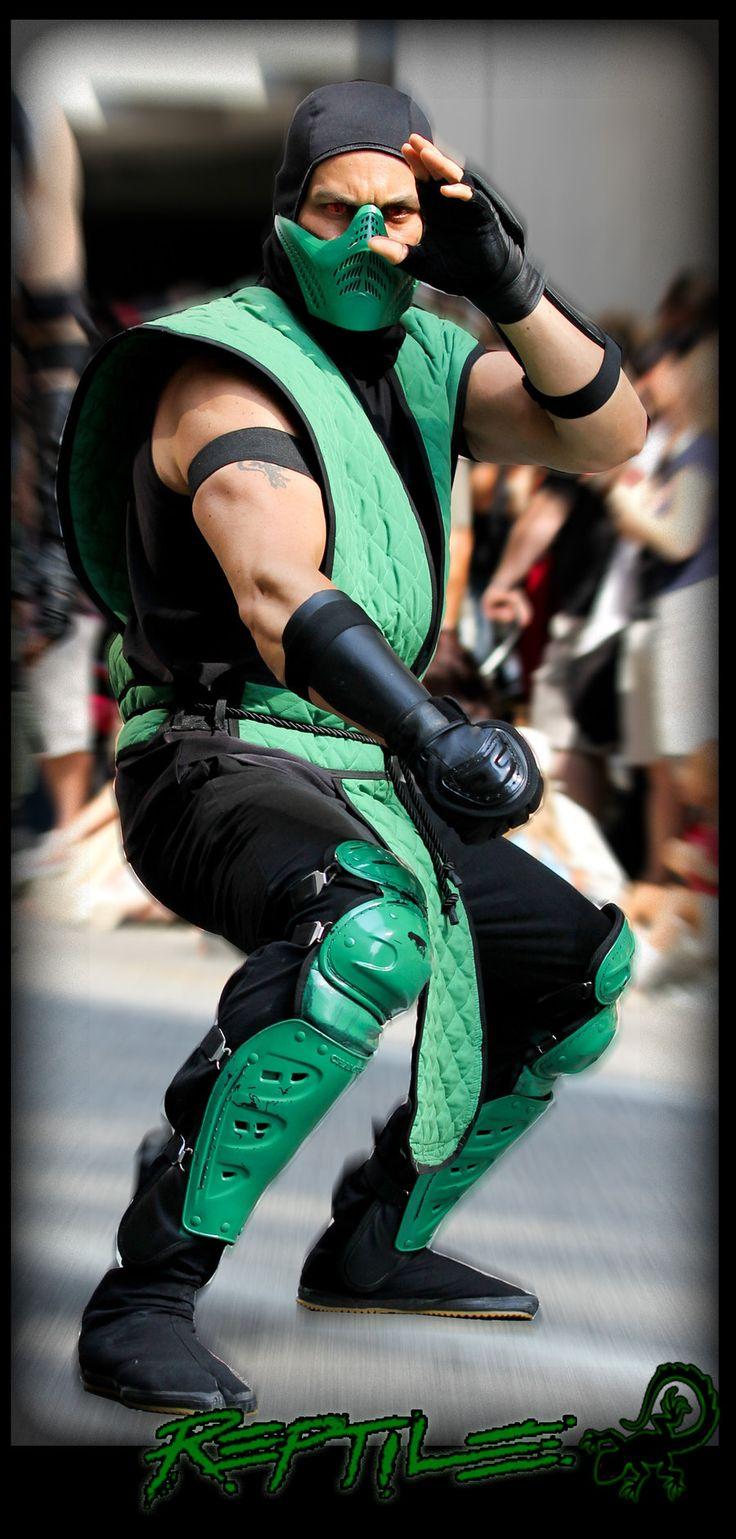 Reptile mortal kombat costume - photo#12