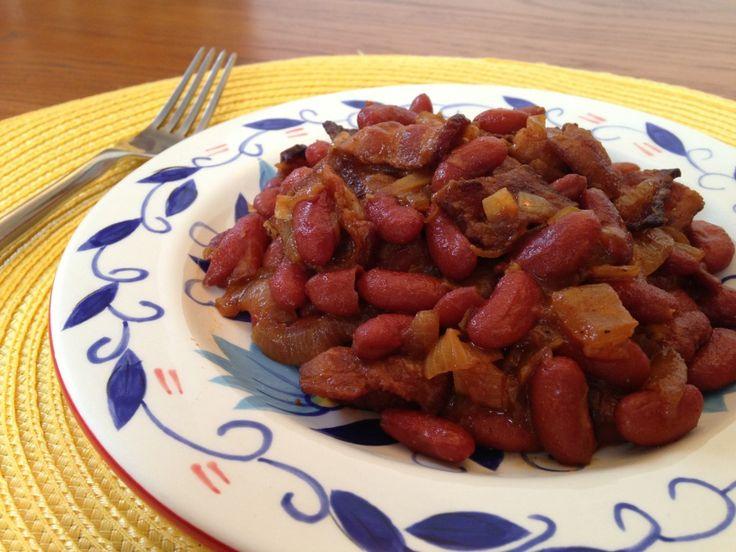 Root Beer Baked Beans | Kidney Bean Recipes | Pinterest
