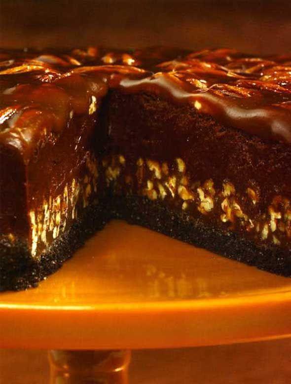 Chocolate Caramel Torte | Recipe