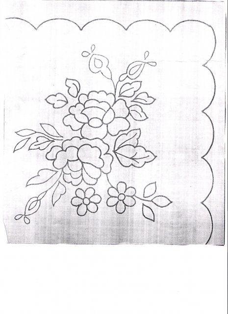 dibujos para bordar | Dibujos para bordar servilletas - Imagui