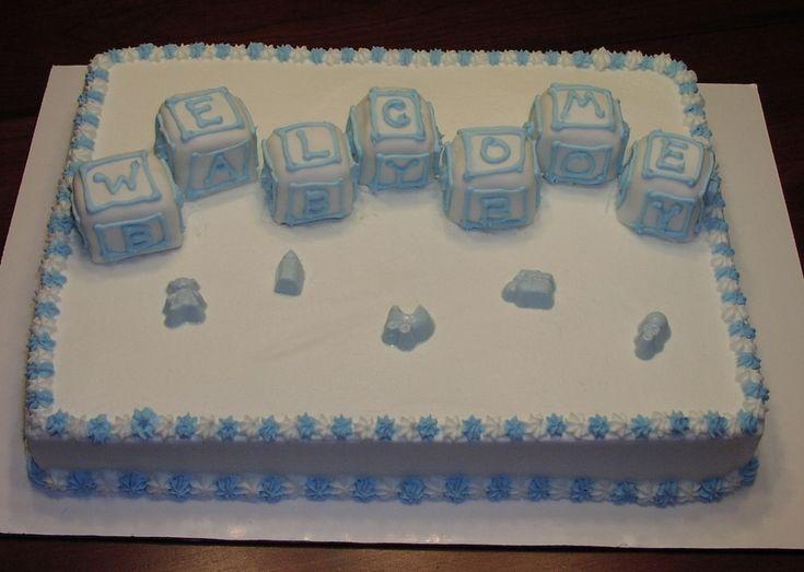 oh boy half sheet cake baby shower cakes pinterest