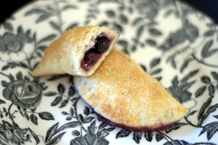 365 Days of Baking: Cherry Blueberry Turnovers