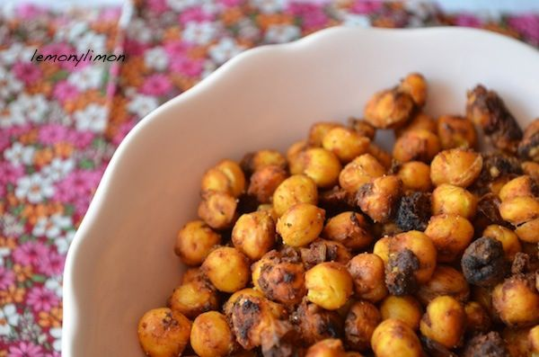 Aperitivo garbanzos crujientes ( snack)