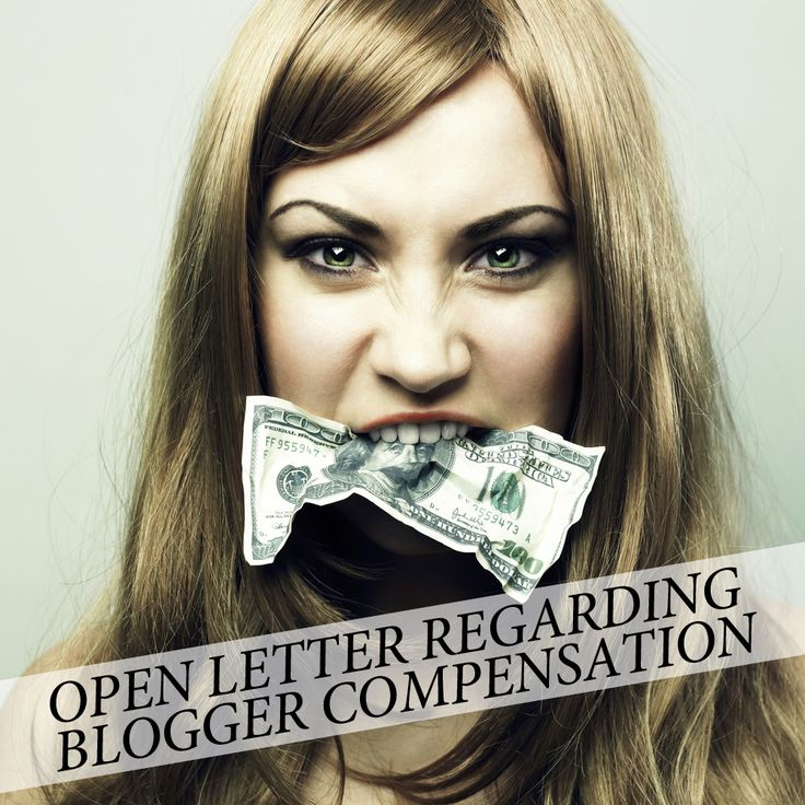 An Open Letter to Journalists and Brands About Blogger Compensation