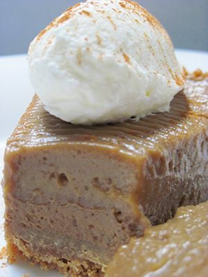 Chocolate Pumpkin Butterscotch Pie | Cakes and pies | Pinterest