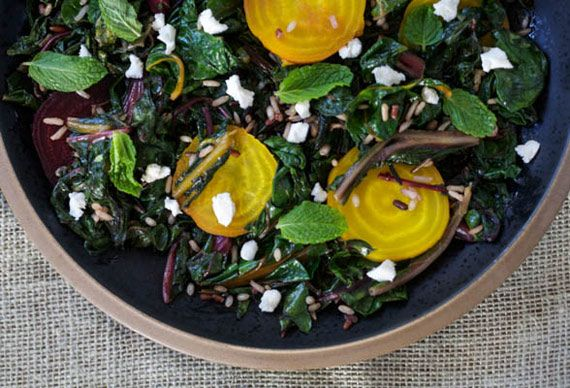 Warm Winter Salad With Brown Butter Vinaigrette
