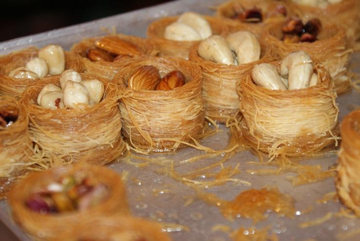 Almond Baklava Recipe — Dishmaps