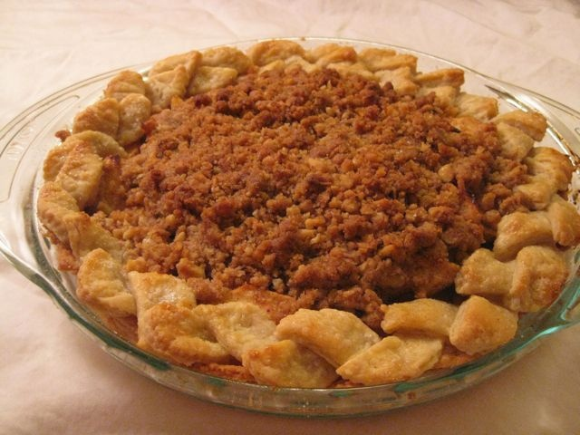 Apple Crumb Pie | Recipes | Pinterest