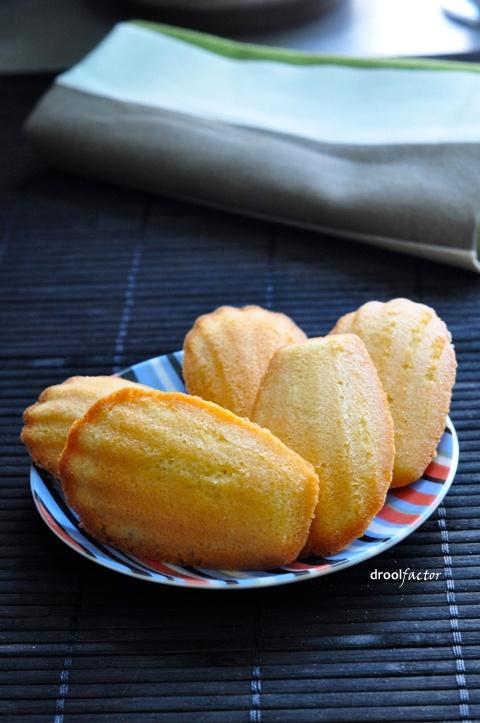 Vanilla Madeleines | Food | Pinterest