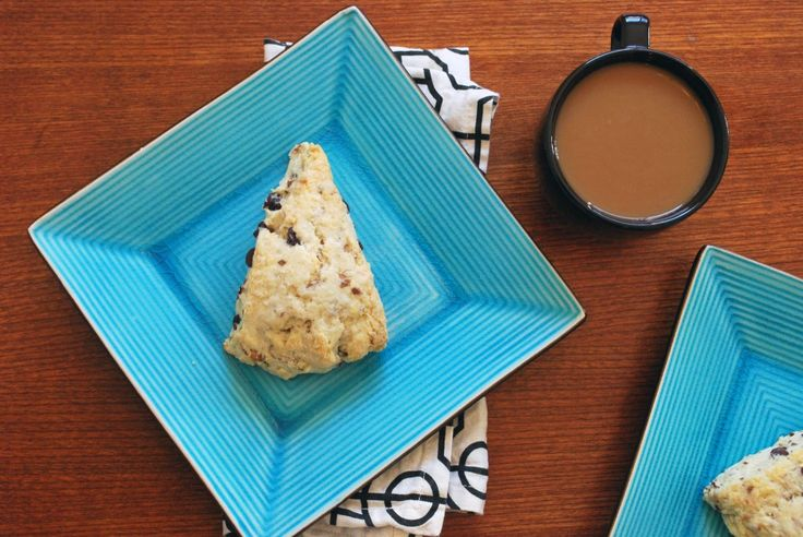 Chocolate Coconut Almond Scone - I love chocolate and coconut and ...
