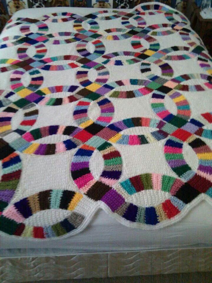 Crocheting Quilts : Crochet/quilt lol Quilts Pinterest