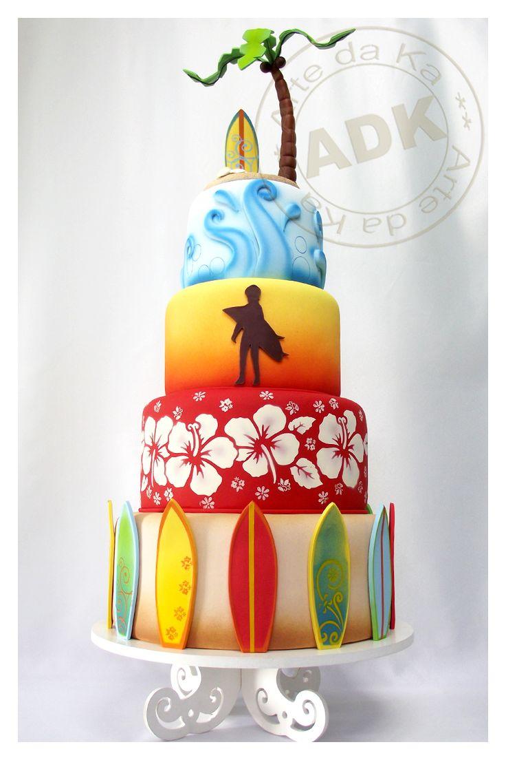 Bolo Surf - Surf cake