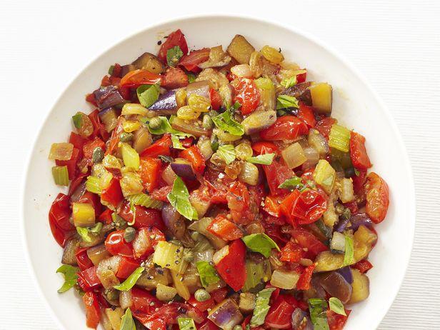 Eggplant Caponata Recipe : Food Network Kitchen