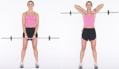 row http www amazingfitnesstips com why you should not do upright rowOverhand Barbell Row