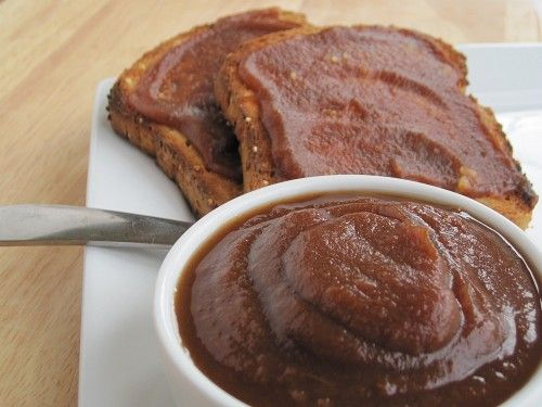 Slow Cooker Apple Butter- no sugar or sweetener, just a little apple ...