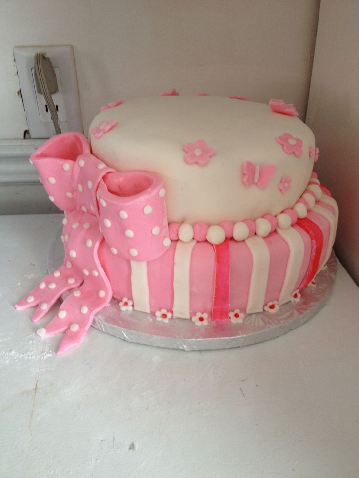 B Day Cake Images For Girl : Girls b-day cake Kym s Konfections Cakes Pinterest