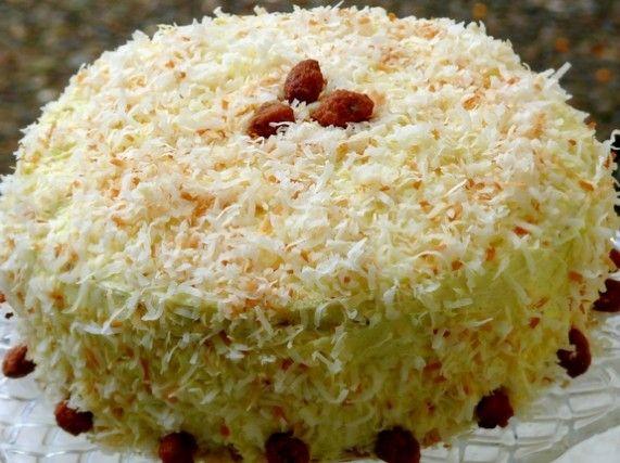 ... Coconut Cake w/ Coconut Filling & Coconut Buttercream NoblePig.com