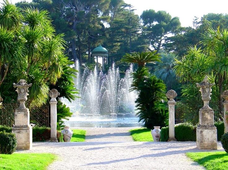 Villa ephrussi de rothschild garden secret gardens for Villa jardins ephrussi de rothschild