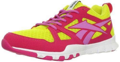 Reebok Women's Sublite TR Cross-Training Shoe,Solar Green/Cosmic Berry