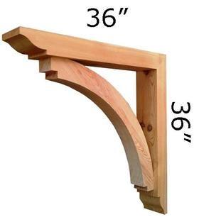 Wood Bracket 14T7 X2 Home Exterior Pinterest