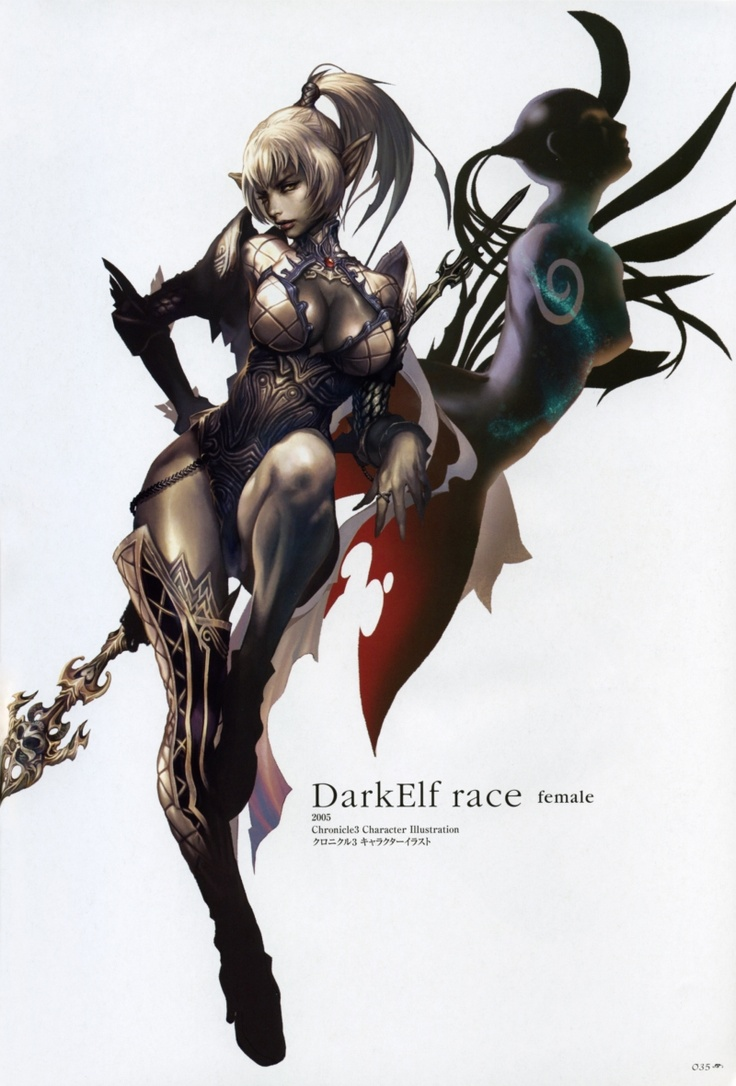 Dark elf hentai babes adult scenes