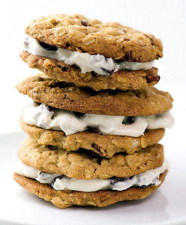 Oatmeal Sandwich Cookies with Rum Raisin Filling | Recipe
