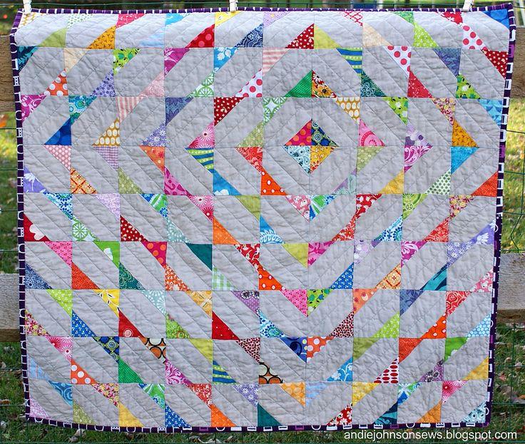 cute scrap quilt