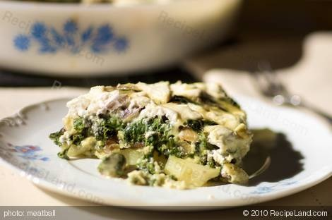 Crustless Swiss Chard and Goat Cheese Quiche...This quiche uses ...