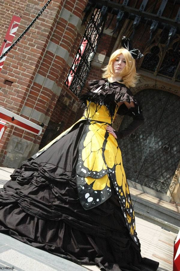 Kagamine Rin - Daughter of EvilKagamine Rin Daughter Of Evil Cosplay