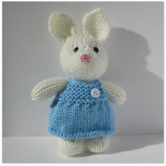 Bunny Rabbit Knitting Pattern : Pinterest