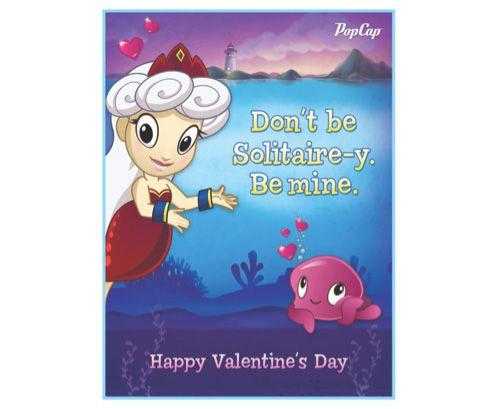 video game valentine cards