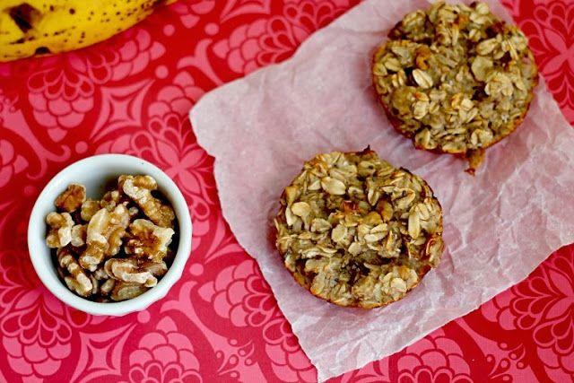Baked Maple Walnut Banana Oatmeal Cups | Food/Drink/Fatty Life | Pint ...
