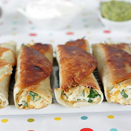 Chubby Chicken and Cream Cheese Taquitos | Tasty Goodness! | Pinterest