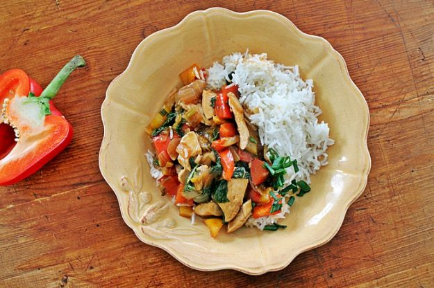 Thai-Style Stir-Fried Chicken And Basil Recipes — Dishmaps