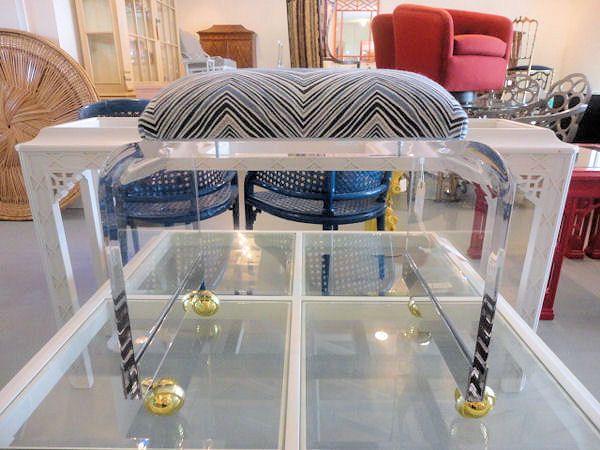Lucite vanity stool for the vanity fine designs pinterest