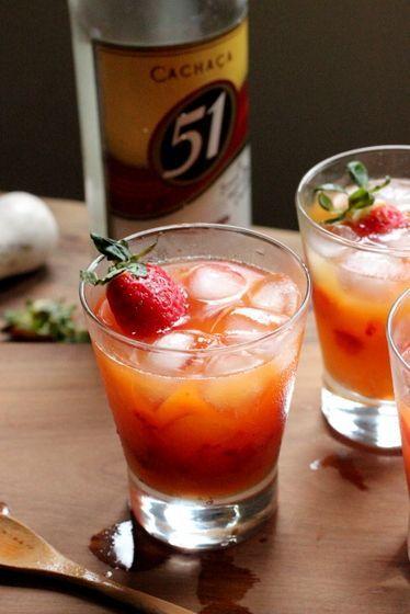 Strawberry & passion fruit caipirinha | Food/ Recipes I love | Pinter ...