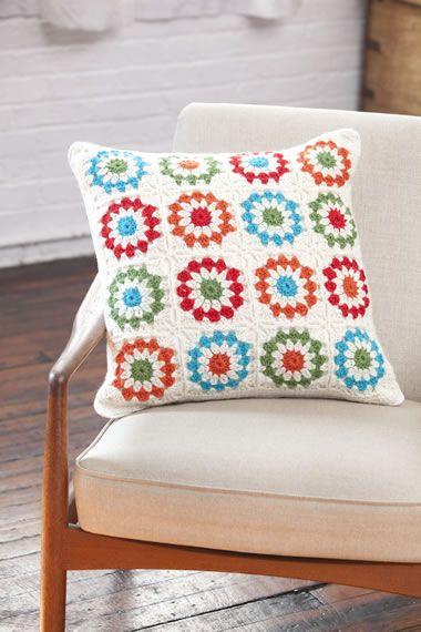 Copenhagen Pillow - Free pattern
