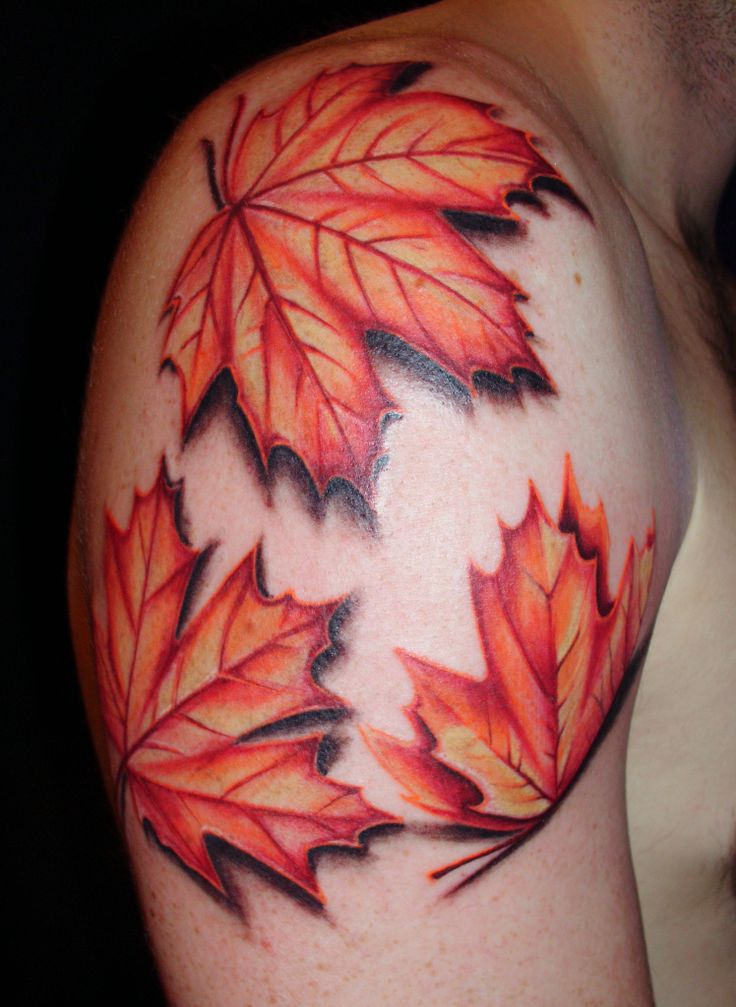 autumn leaves tattoo 39 s piercings. Black Bedroom Furniture Sets. Home Design Ideas